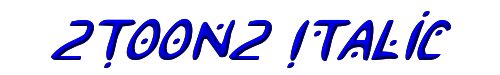 2Toon2 Italic