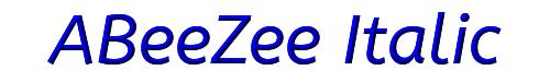 ABeeZee Italic