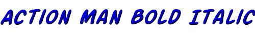Action Man Bold Italic