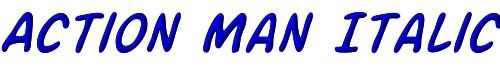 Action Man Italic