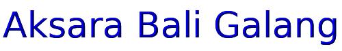 Aksara Bali Galang