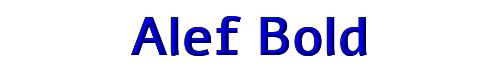 Alef Bold