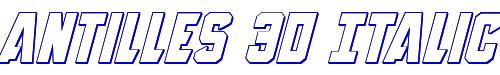 Antilles 3D Italic