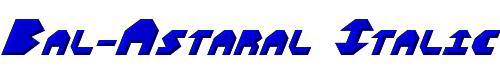 Bal-Astaral Italic