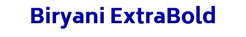 Biryani ExtraBold
