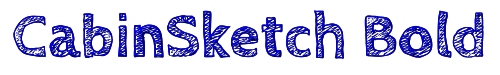 CabinSketch Bold
