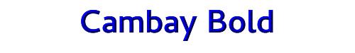 Cambay Bold