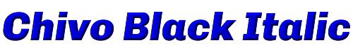 Chivo Black Italic