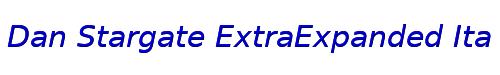 Dan Stargate ExtraExpanded Italic