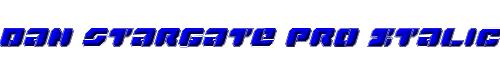 Dan Stargate Pro Italic