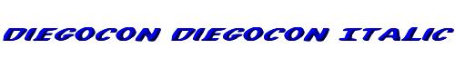 DiegoCon DiegoCon Italic