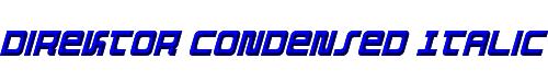 Direktor Condensed Italic