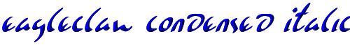 Eagleclaw Condensed Italic