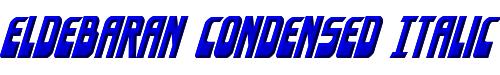 Eldebaran Condensed Italic