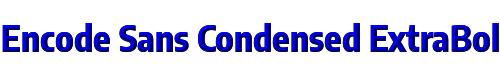 Encode Sans Condensed ExtraBold