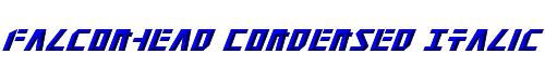 Falconhead Condensed Italic