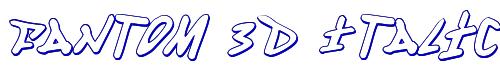 Fantom 3D Italic