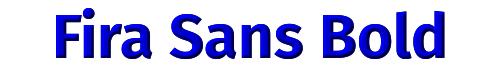 Fira Sans Bold