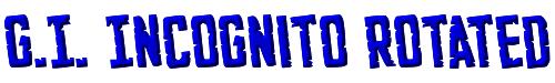 G.I. Incognito Rotated