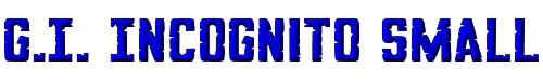 G.I. Incognito Small