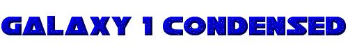 Galaxy 1 Condensed