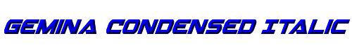 Gemina Condensed Italic