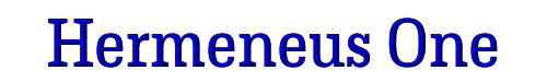 Hermeneus One