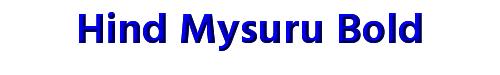 Hind Mysuru Bold