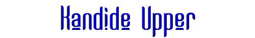 Kandide Upper