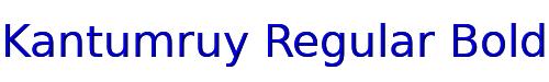 Kantumruy Regular Bold