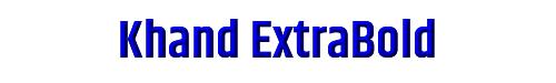 Khand ExtraBold