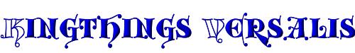 Kingthings Versalis