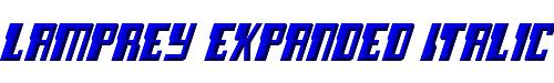 Lamprey Expanded Italic