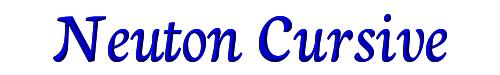 Neuton Cursive