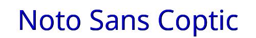 Noto Sans Coptic