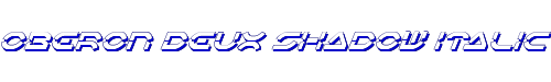 Oberon Deux Shadow Italic