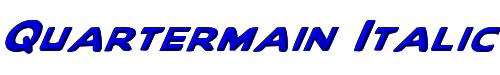 Quartermain Italic