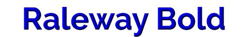 Raleway Bold