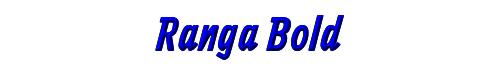 Ranga Bold