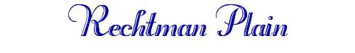 Rechtman Plain