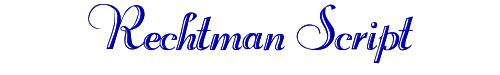 Rechtman Script