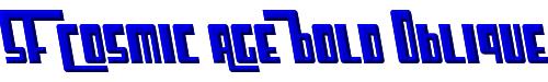 SF Cosmic Age Bold Oblique