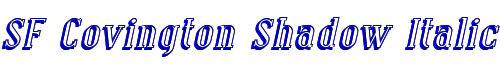 SF Covington Shadow Italic