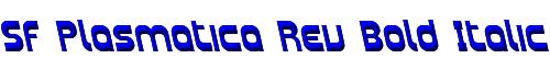 SF Plasmatica Rev Bold Italic