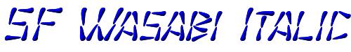 SF Wasabi Italic