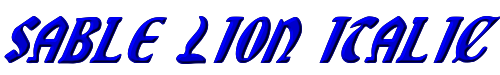 Sable Lion Italic