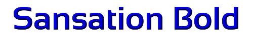Sansation Bold