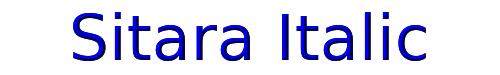 Sitara Italic
