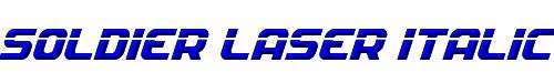 Soldier Laser Italic