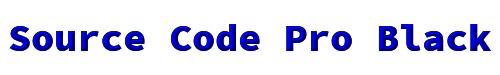 Source Code Pro Black